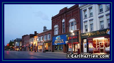 [Beautiful Main Street, Simcoe, Ontario]
